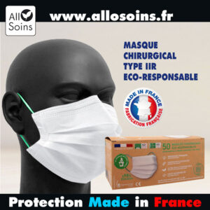 MASQUE-CHIRURGICAL-TYPE-IIR-COMPOSTABLE-NF-EN-14683-ALLOSOINS